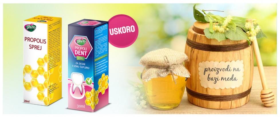 Proizvodi na bazi meda i propolisa